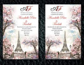 #140 para Design a wedding invitation de risfatullah