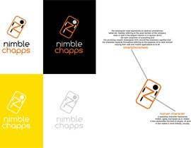 TheAVashe tarafından Design a Logo for NimbleChapps.com için no 50