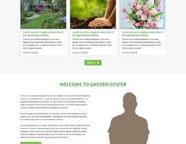 nº 23 pour Design homepage for website garden center par gravitygraphics7