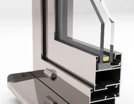#91 for Rendering of Aluminium Window Corner Section by arqfernandezr