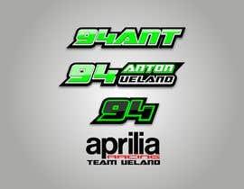 Nro 43 kilpailuun Design raceteam/rider profile logos käyttäjältä Stefan2iggy
