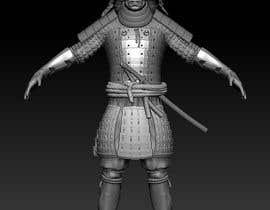 #15 untuk 3D Model - Samurai Character  - 3D Printing oleh NikolaiCG