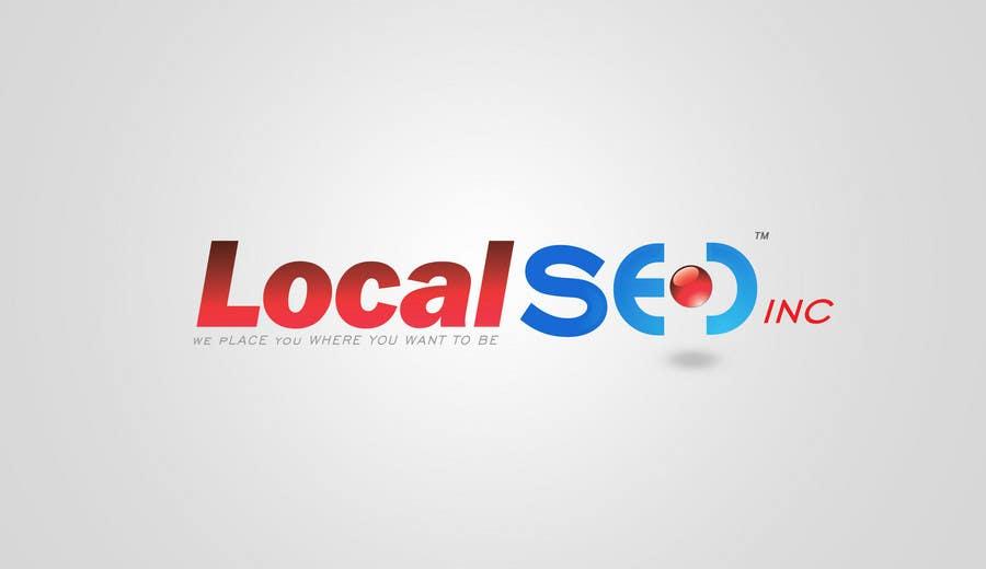 Kilpailutyö #307 kilpailussa Logo Design for Local SEO Inc