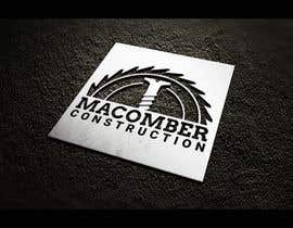 #81 untuk Locally Owned Construction Company - Logo with  Saw Blade with Screw in it oleh faresmila