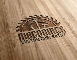 #52 untuk Locally Owned Construction Company - Logo with  Saw Blade with Screw in it oleh djmaric