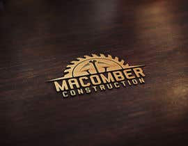 #110 untuk Locally Owned Construction Company - Logo with  Saw Blade with Screw in it oleh djmaric