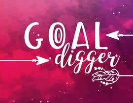 #52 for Goal Digger Book Cover af Marygonzalezgg
