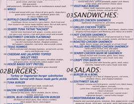#15 for I need a menu design concept by surangaanu