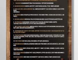#32 for I need a menu design concept af miguelboni