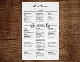 #29 for I need a menu design concept by gkhaus