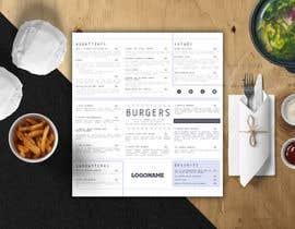 #31 for I need a menu design concept af ElenaMal