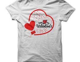 #46 for I need to design a T-Shirt for Valentine's Day af Mostakim1011