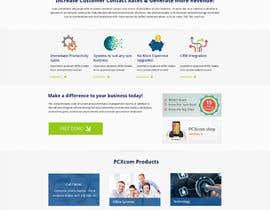 Nro 32 kilpailuun Design a Website Mockup for Software Company käyttäjältä alpyraj81