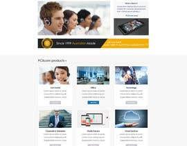 Nro 23 kilpailuun Design a Website Mockup for Software Company käyttäjältä sanduice