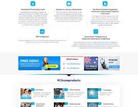 Nro 19 kilpailuun Design a Website Mockup for Software Company käyttäjältä noninoey