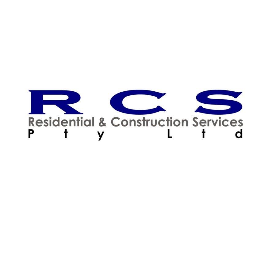Конкурсная заявка №47 для Logo Design for Residential & Construction Services Pty Ltd