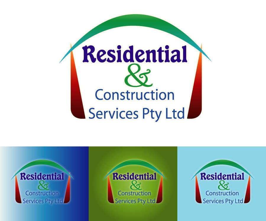 Конкурсная заявка №122 для Logo Design for Residential & Construction Services Pty Ltd