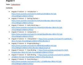 #2 untuk Research youtube videos on an online course on hot Software industry topics. oleh Rahtar24