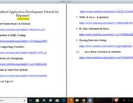 #4 untuk Research youtube videos on an online course on hot Software industry topics. oleh jincyk