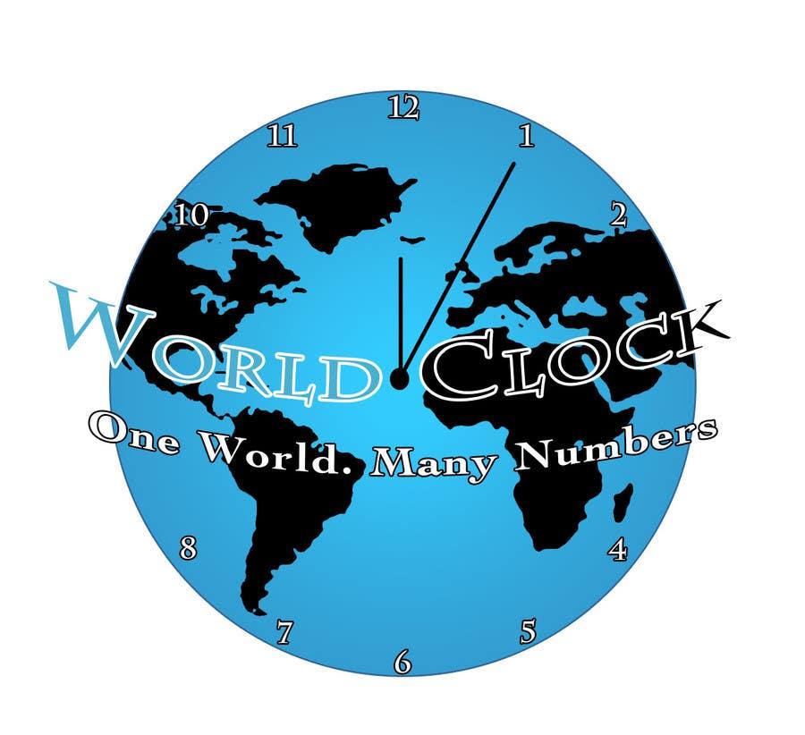 Penyertaan Peraduan #19 untuk Logo Design for WorldClock.com