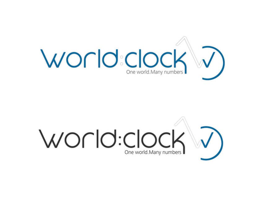 #207 for Logo Design for WorldClock.com by johanacp