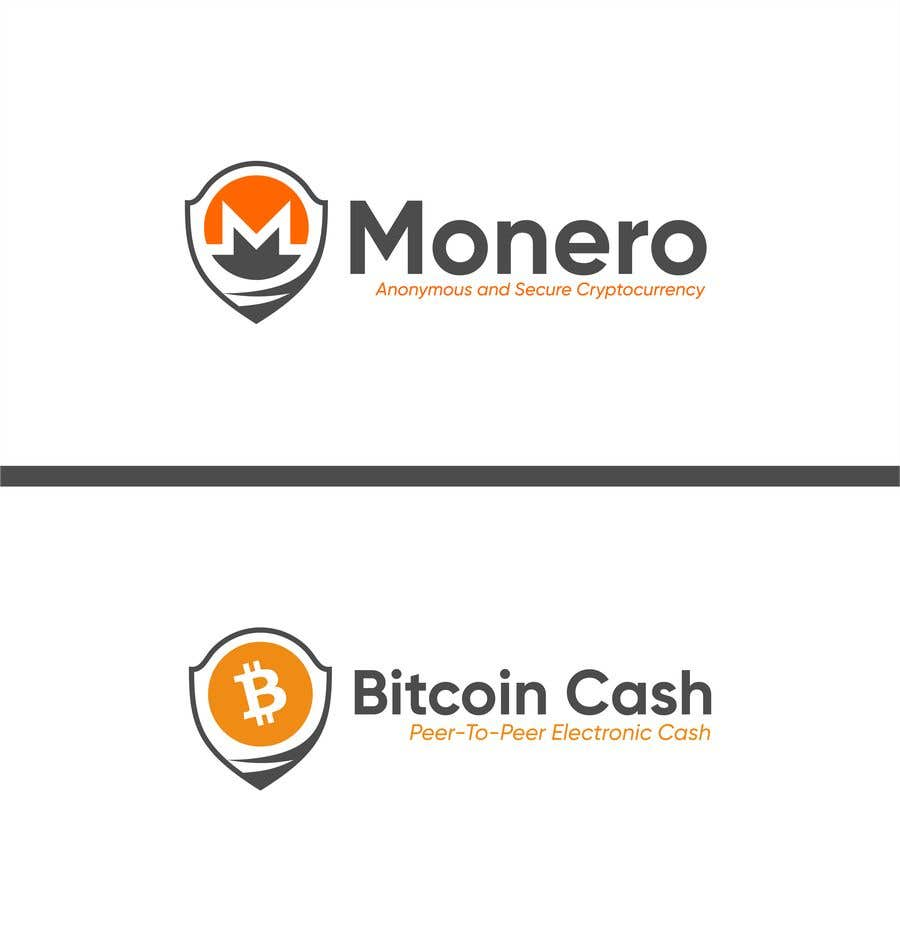 Entry #2 by jhonfrie for Cryptowebsite Logo Design - Minimal
