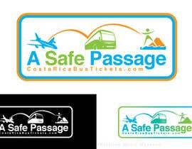 #11 for Logo Design for A Safe Passage - CostaRicaBusTickets.com by justwoomass