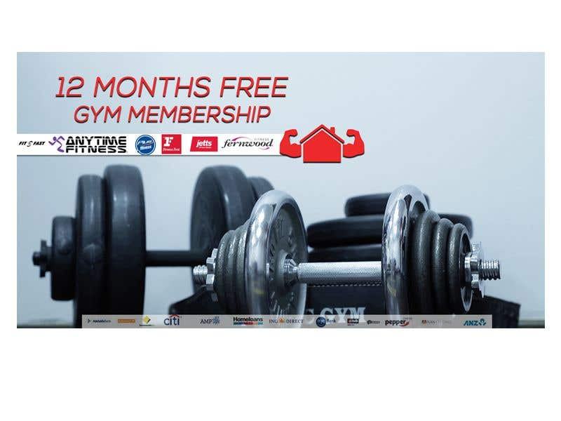 Entry #9 by aalimp for Design Free Gym FB ad   Freelancer