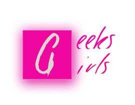 Nro 25 kilpailuun Geek girl logo käyttäjältä hubertzacki