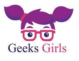 Nro 16 kilpailuun Geek girl logo käyttäjältä GeorgeMakram94