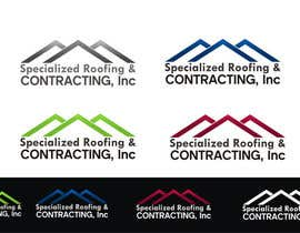 #69 untuk Logo Design for Specialized Roofing & Contracting, Inc. oleh ezra66