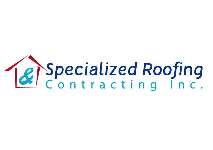 Kilpailutyö #119 kilpailussa Logo Design for Specialized Roofing & Contracting, Inc.