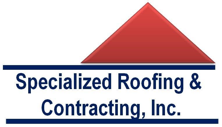 Penyertaan Peraduan #                                        10                                      untuk                                         Logo Design for Specialized Roofing & Contracting, Inc.