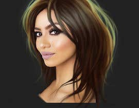 #9 for Drawing hair in Photoshop by margaritaeihmane