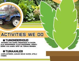 #49 for We need a flyer for our new company in garden maintenance by marou123