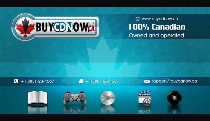 Contest Entry #                                        79                                      for                                         Business Card Design for BUYCDNOW.CA