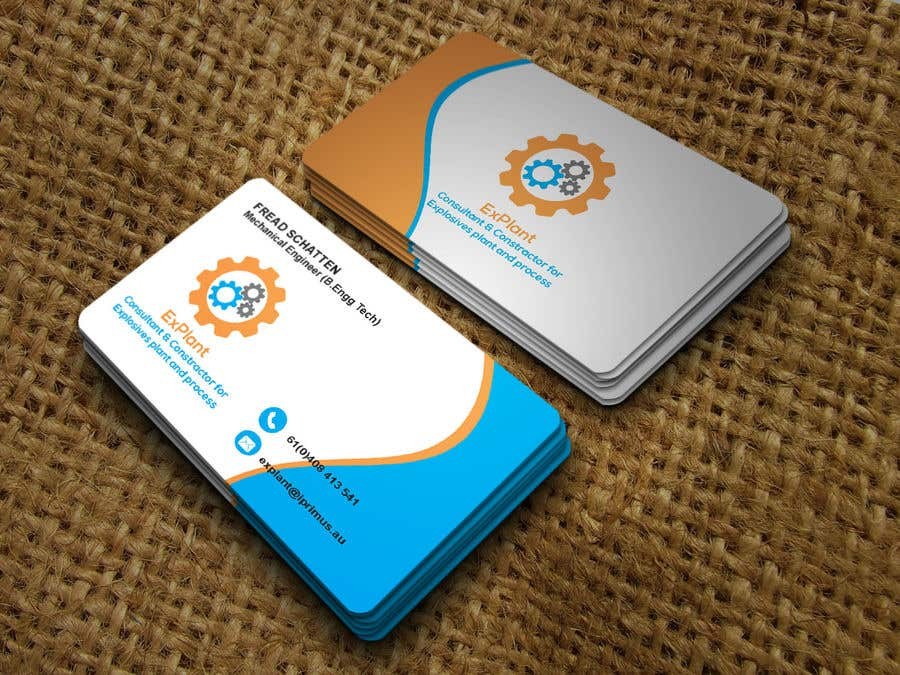 Entry #198 by tasneemsiraj70 for Business card with graphic | Freelancer