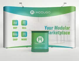 #6 for Design Trade Show Booth Backdrop - ModuGo by adarshdk