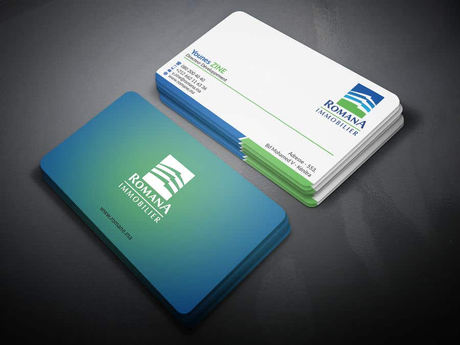 Entry #223 by tapurayhun6040 for design 2 sided business card with ...