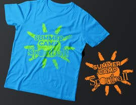 #52 for Kids Sports Summer Camp T-Shirt Design by Exer1976