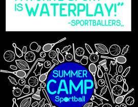 Nro 28 kilpailuun Kids Sports Summer Camp T-Shirt Design käyttäjältä Mostakim1011