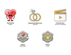 #19 cho Graphic Illustrator Needed For Emoji's, Badges, Medals, & Other Icons (Winner WIll Be Hired For Additional Work) bởi MollyMPDesign