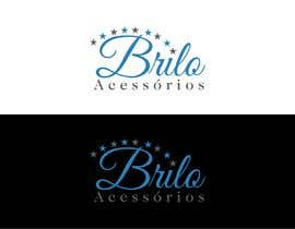 """#88 , Criação de logotipo da empresa de bijouterias """"Brilo Acessórios"""" 来自 kaygraphic"""