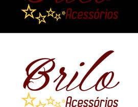 """#44 , Criação de logotipo da empresa de bijouterias """"Brilo Acessórios"""" 来自 hanna97"""