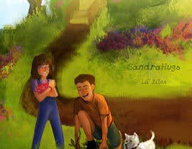 nº 4 pour Illustrate storybook front cover and 1 inside double page par TheArtSquid