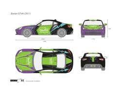 Nro 14 kilpailuun Racing car graphic design käyttäjältä kuini