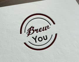 """#123 for I need a logo for my brewing company """"Brew You"""". Im thinking something retro, stram punk and/or straigh up punk (combine to hearts content). Bonus points if you include hops! by JohnDigiTech"""