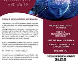 #21 untuk Redesign a flyer for printing oleh maidang34