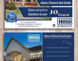 nº 93 pour Real Estate Agent Postcard par sherinjahan62