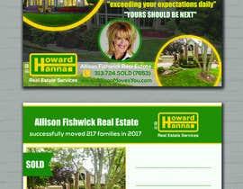 nº 80 pour Real Estate Agent Postcard par zufee